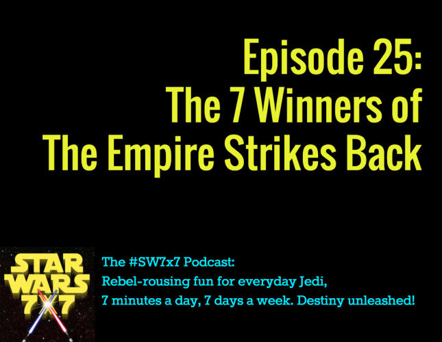 7 Winners of the Empire Strikes Back