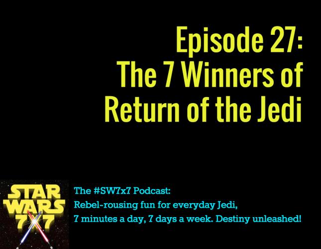 The Winners of Return of the Jedi