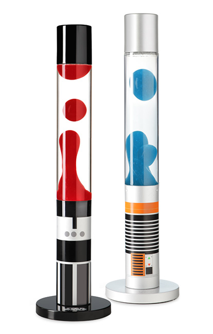 Star Wars Lightsaber Lava Lamps