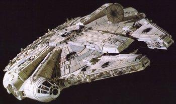 Millennium Falcon (via Wookieepedia)