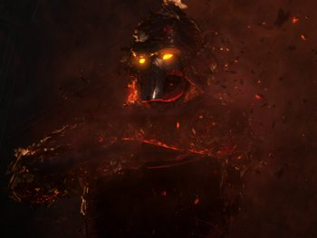 Darth Bane's ghost in the Clone Wars