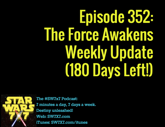 Episode 352: The Force Awakens Weekly Update
