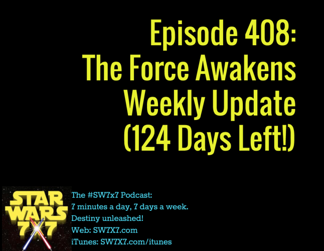 Episode 408: The Force Awakens Weekly Update
