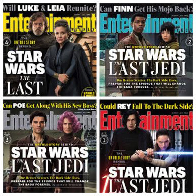 entertainment-weekly-the-last-jedi-four-covers