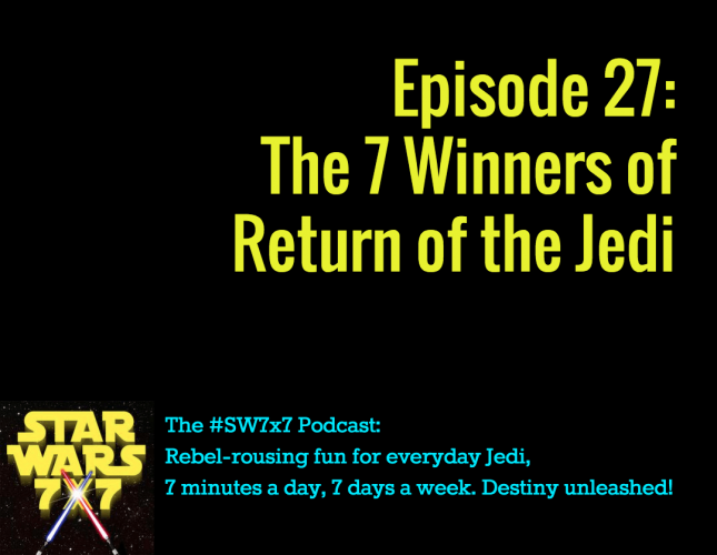 The Winners of Return of the Jedi