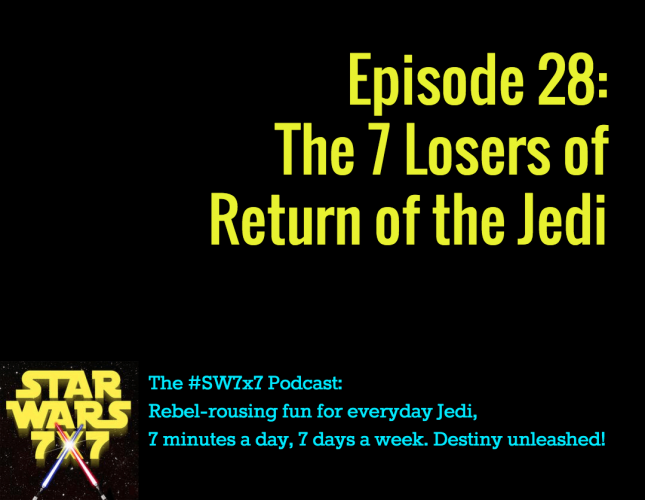 The 7 Losers of Return of the Jedi